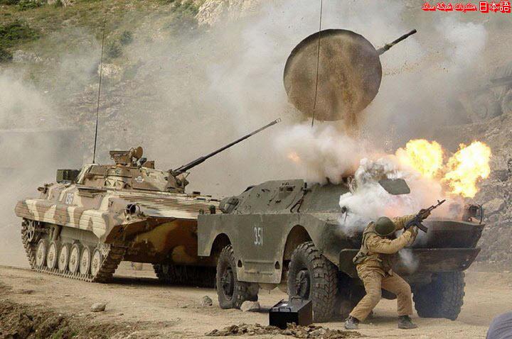 صورة مضحكة - دبابة - حرب