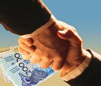 الرشوة corruption