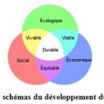 schéma du développement durable
