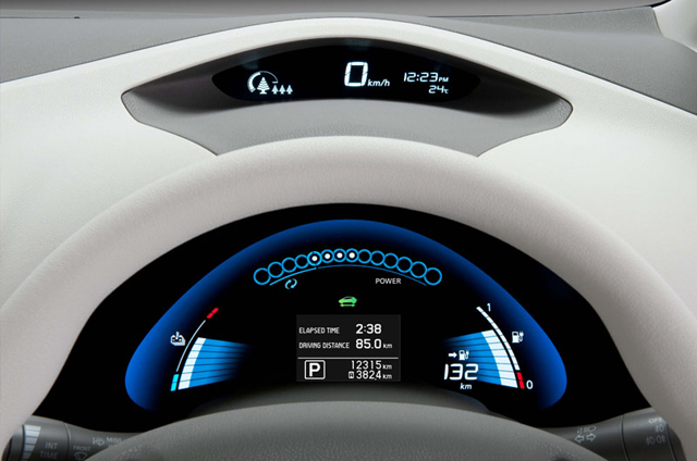 nissan leaf electric photo
