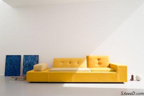 Le canapé jaune