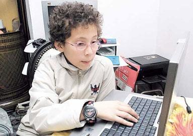 طفل مصري يثبت أن الانترنت ليست للكبار فقط