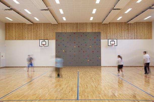 الصالة الرياضية داخل السجن