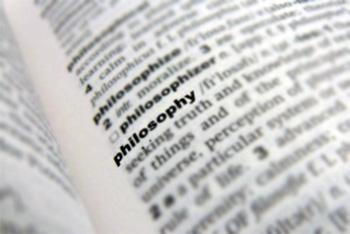 منزلة المعجم في درس الفلسفة