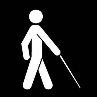 هل ينزل الأعمى منزلة الأمي؟
