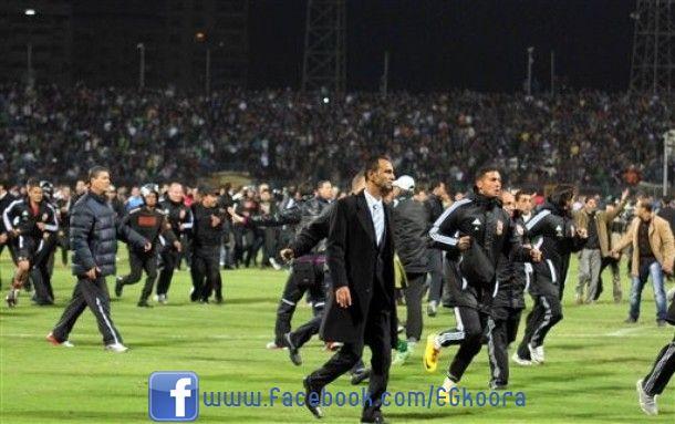 مجزرة مباراة الأهلي والمصري