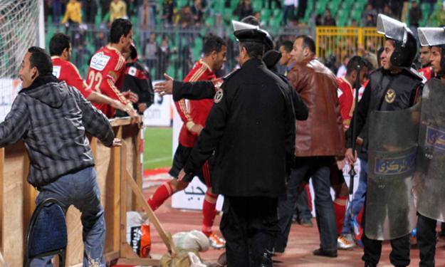 أحداث مباراة الأهلي والمصري بورسعيد